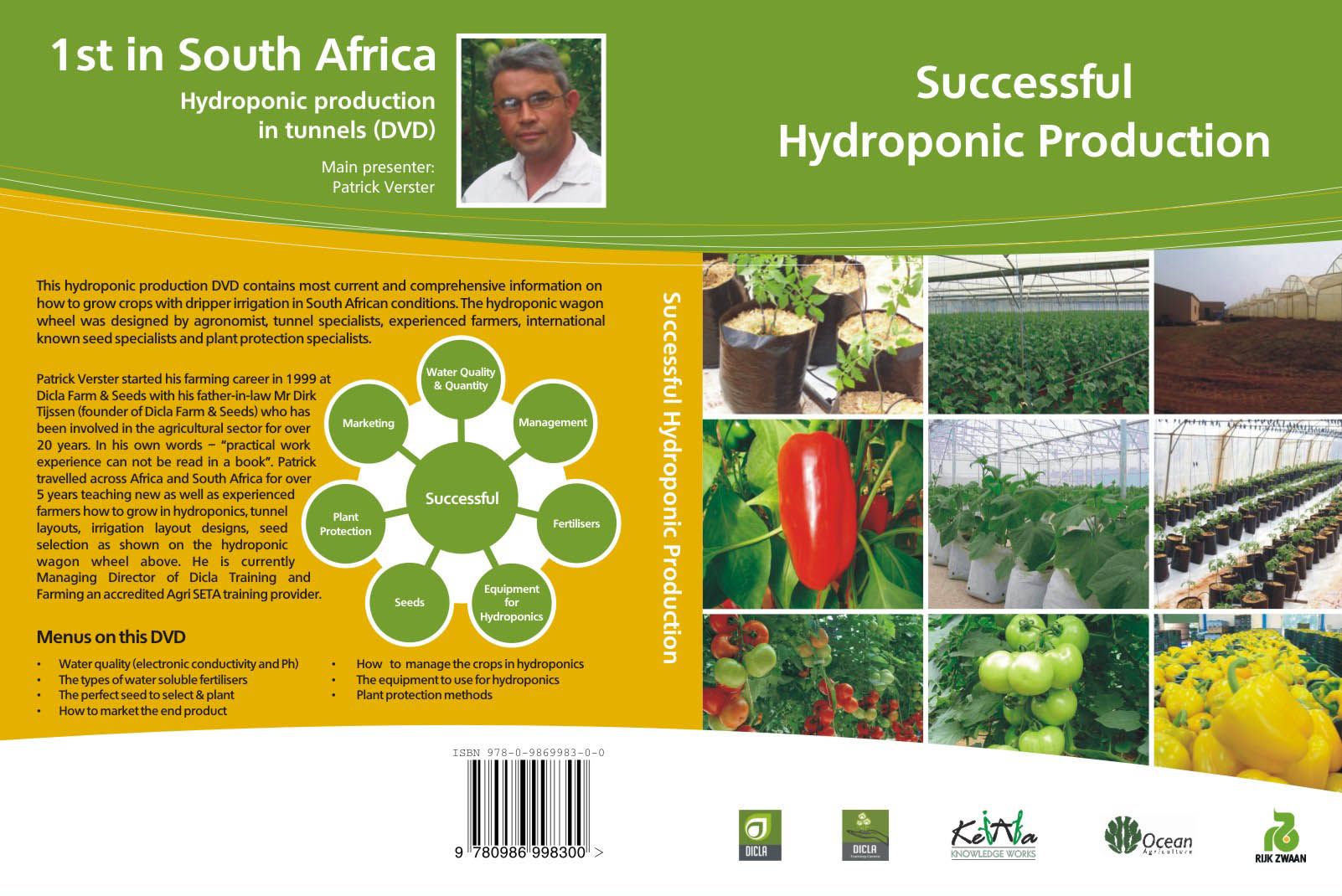 Click for larger image - DVD on Hydroponic Production in Tunnels